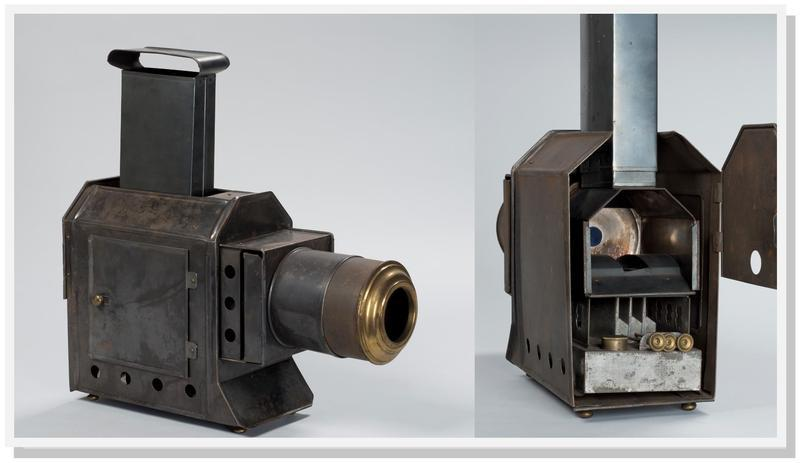 A look at the inner workings of a magic lantern
