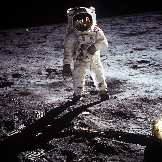 Apollo Astronaut Landing