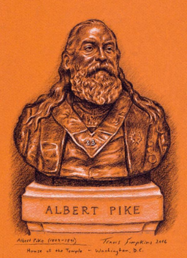 Albert Pike by Travis Simpkins