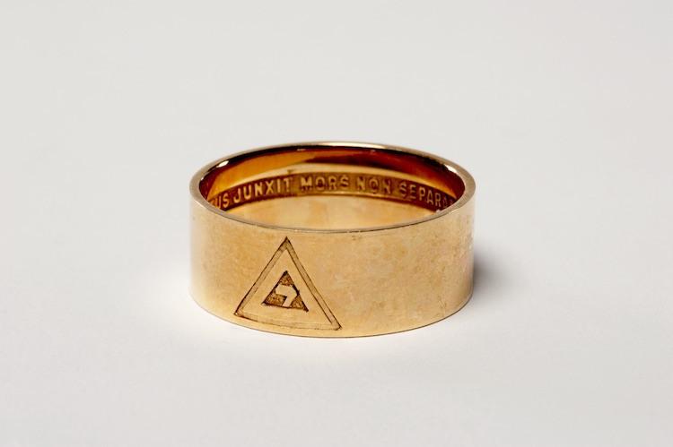 14th degree Scottish Rite ring