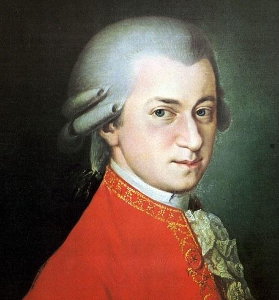Wolfgang Amadeus Mozart; Portrait by Barbara Krafft