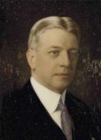 A portrait of Past Sovereign Grand Commander Melvin M. Johnson