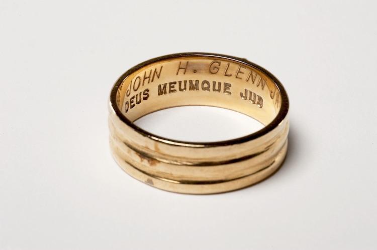 John Glenn's 33rd degree Scottish Rite ring