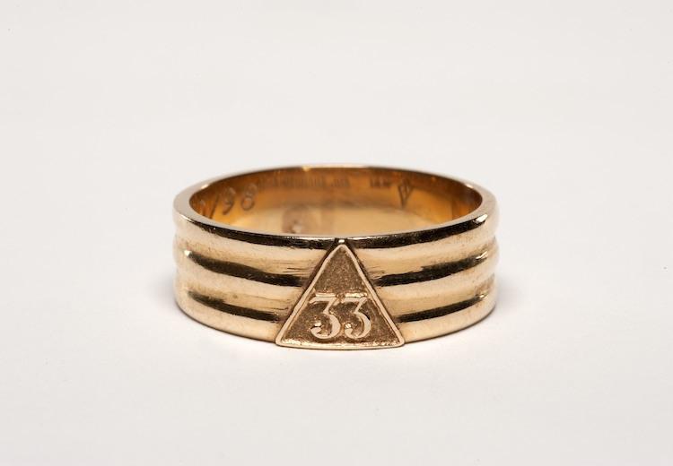 33rd degree Scottish Rite ring