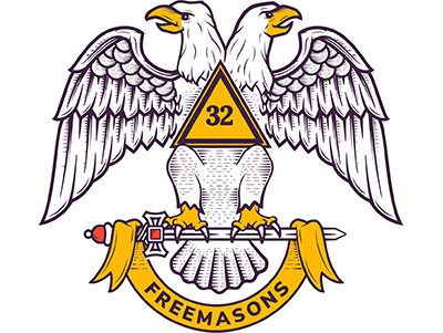 Scottish Rite double headed eagle