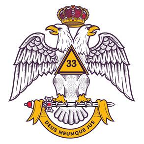 Scottish Rite Northern Masonic Jurisdiction 33 degree logo