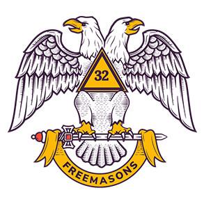 Scottish Rite double headed eagle Freemasons