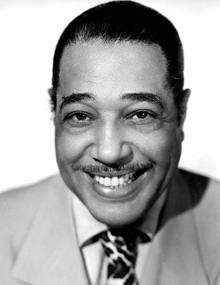 A photograph of Duke Ellington in the 1940s