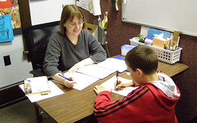 Tutoring at Children's Dyslexia Center