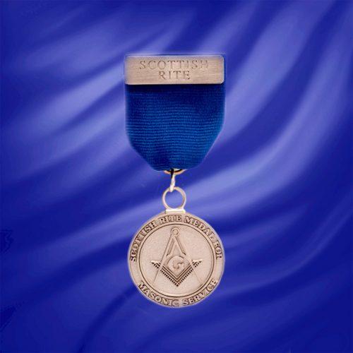 Medal For Masonic Service