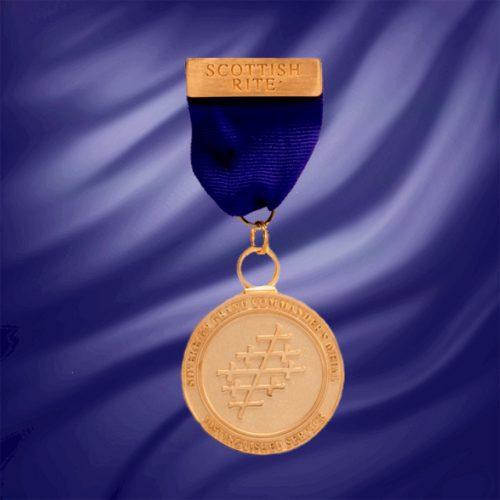 Sovereign Grand Commander's Medal For Distinguished Service