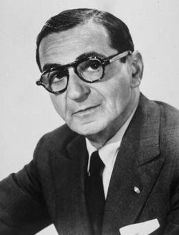 Portrait of Irving Belin.