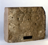 One of the original stones from the White House gifted to the Grand Lodge of Massachusetts