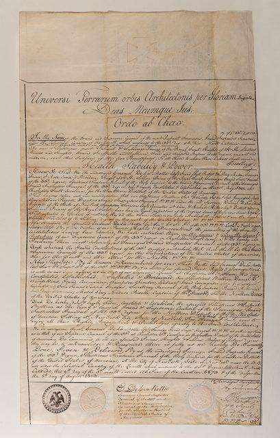 Scottish Rite Northern Masonic Jurisdiction Charter