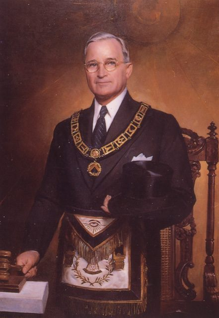 Harry Truman Freemason