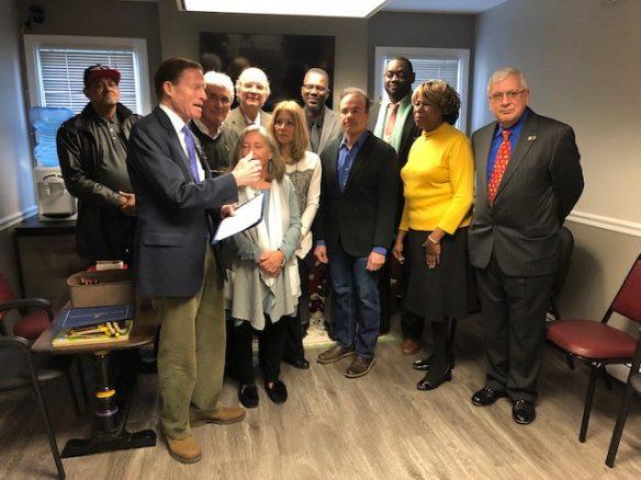 Senator Richard Blumenthal visits the Children's Dyslexia Center