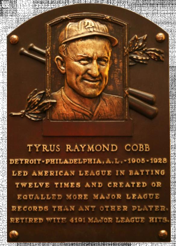 Famous Freemason Ty Cobb