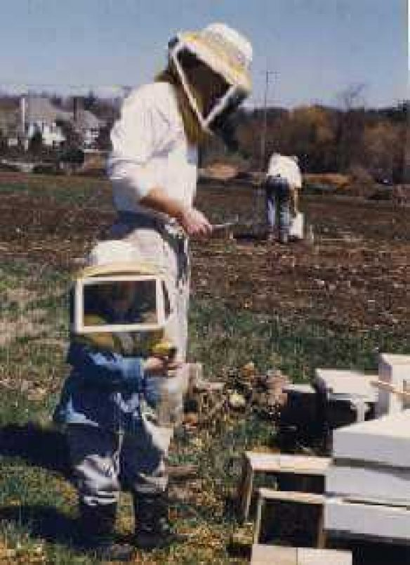 Beekeeping is a family tradition