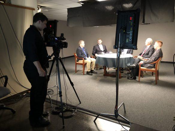 Filming Masonic livestream