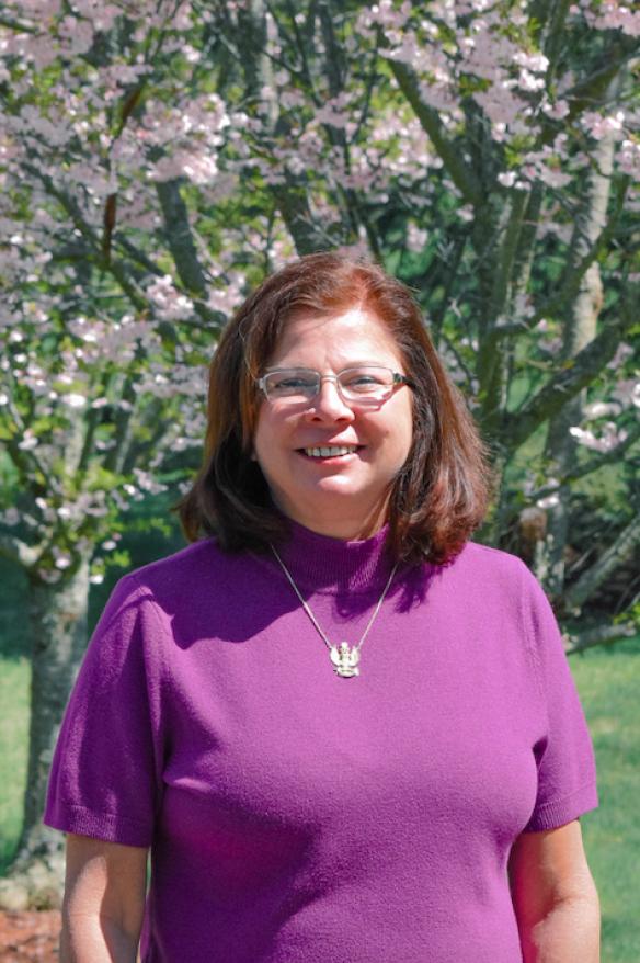 Monica Glattly, founder of the White Flower Society
