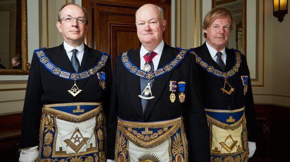 "Masons from ""Inside the Freemasons"""