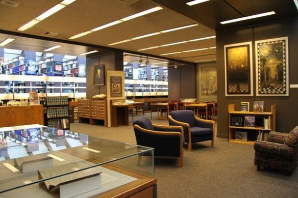 The Van-Gorden Williams Library & Archives Reading Room
