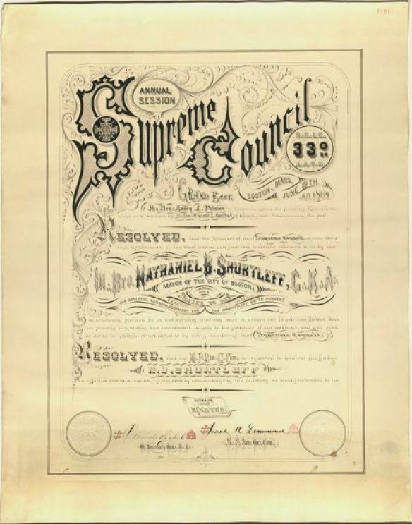 Supreme Council Annual Session