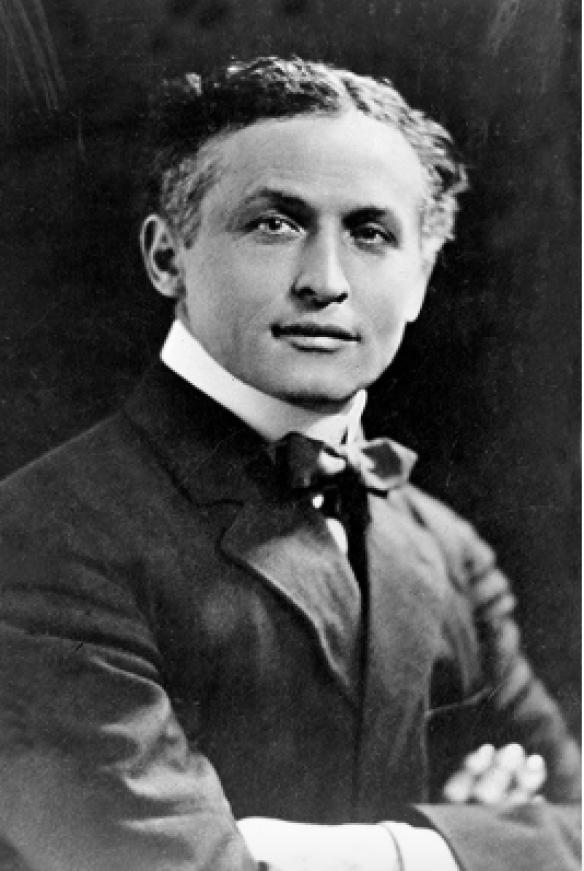 Harry Houdini, magician and famous Freemason