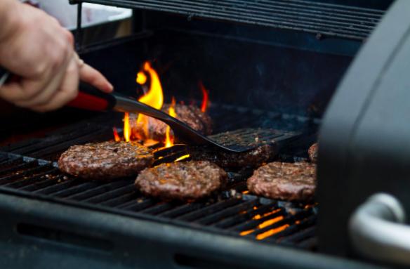Barbecue at a Masonic lodge