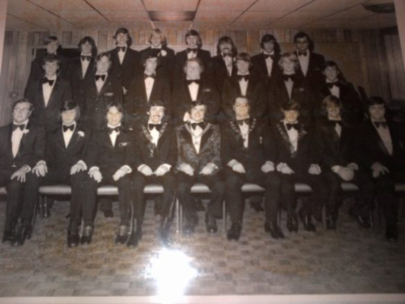 SGC Glattly's State Officer group photo from 1974