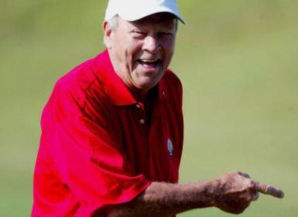 Arnold Palmer Laughing