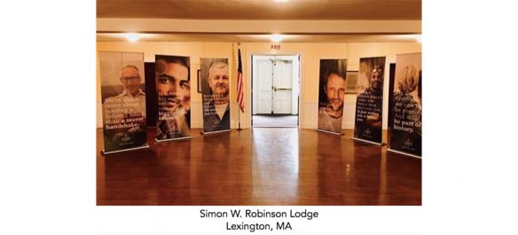 Not Just A Man. A Mason. materials in Lexington Lodge