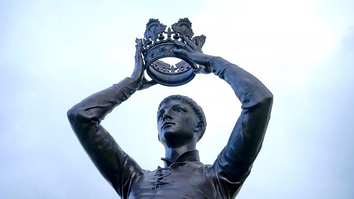 Treason Against the British Crown reenactment
