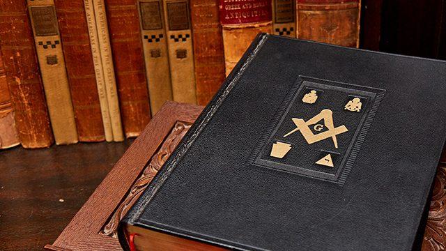 Scottish Rite Books in Library