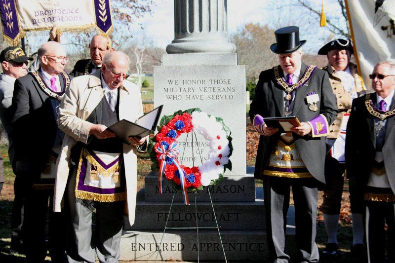Veterans Day at Overseas Lodge No. 40, Pawtucket, RI