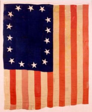 A 15-star American flag which flew between 1794-1818 is housed at the Scottish Rite Masonic Museum & Library