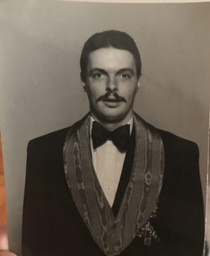 A photograph of Brother Moore's father, Robert C. Moore