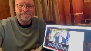 Brother Dave Pritt attends Scottish Rite Virtual Reunion