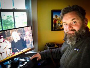 Brother Rikk Manning attends Scottish Rite Virtual Reunion