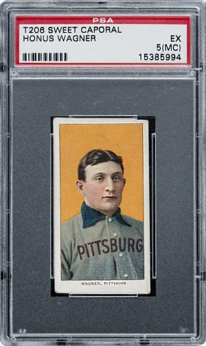 One of the world's most valuable baseball cards featuring shortstop and Freemason Honus Wagner