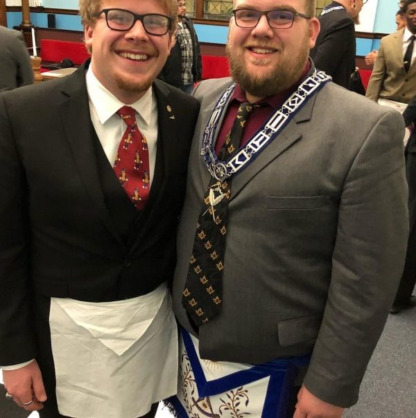 Brothers Joshua Sova (right) and Chris Sova (left)