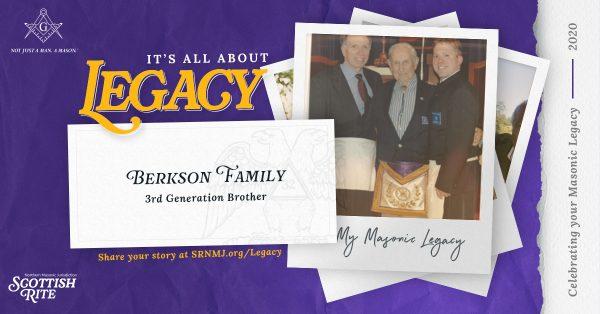 Berkson family's Masonic legacy