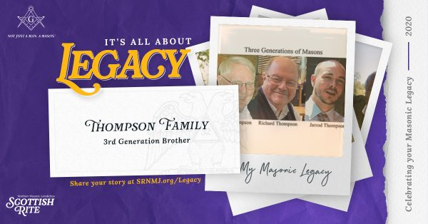 Thompson family's Masonic legacy