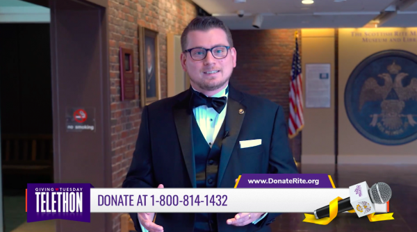 Executive Director Michael Russell Hosted Our Giving Tuesday Telethon
