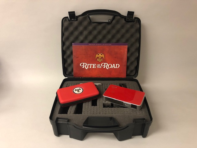 Rite on the Road kits include a projector, hard drive with videos, and guidelines