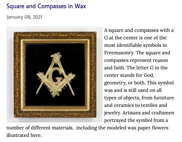 Masonic Museum & Library blog post